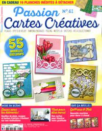 Passion Cartes Créatives N° 61