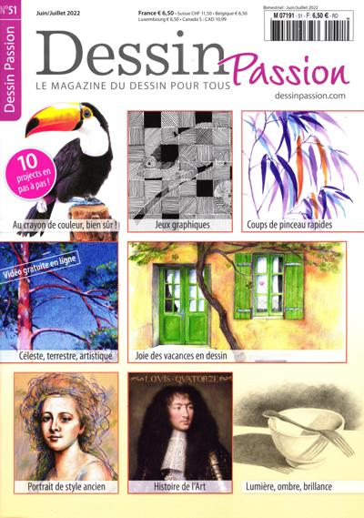 Abonnement magazine Dessin passion