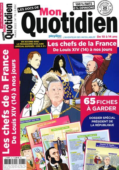 Les docs de Mon Quotidien (photo)