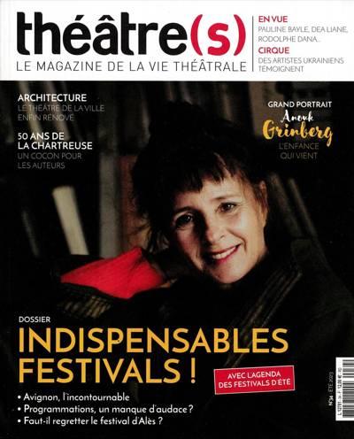 Abonnement Théâtre(s)