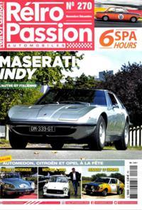 Rétro Passion Automobiles N° 270