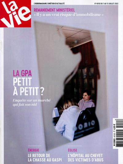 Abonnement magazine La Vie