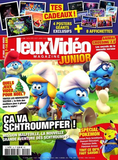 Abonnement magazine Jeux Vidéo Magazine Junior