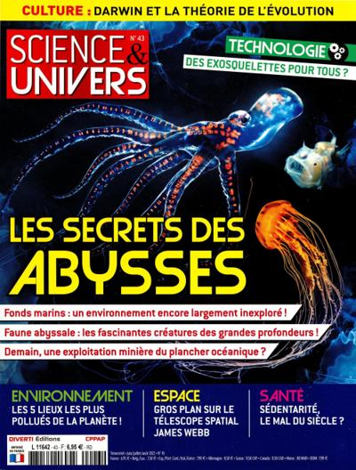 Abonnement magazine Science et Univers