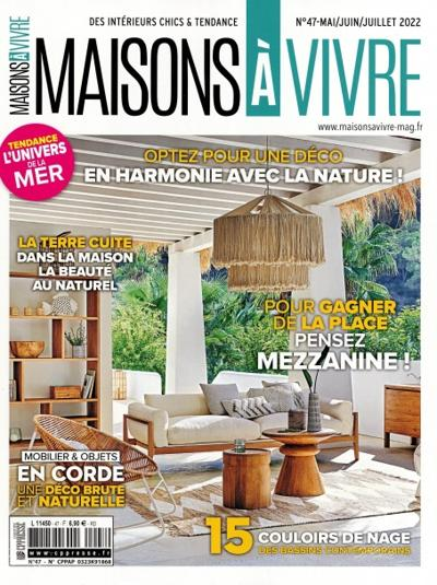 abonnement magazine maisons vivre pas cher viapresse. Black Bedroom Furniture Sets. Home Design Ideas