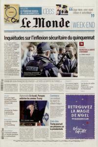 Le Monde Week-end + N° 201121