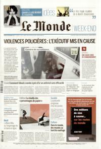 Le Monde Week-end + N° 201128
