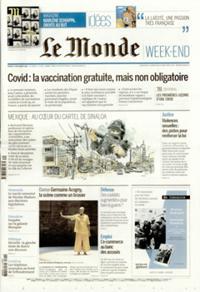 Le Monde Week-end + N° 201205