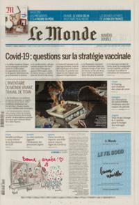 Le Monde Week-end + N° 210102