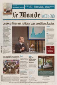 Le Monde Week-end + N° 210501