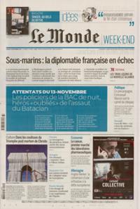 Le Monde Week-end + N° 210918