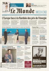 Le Monde Week-end + N° 210925