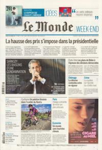 Le Monde Week-end + N° 211002
