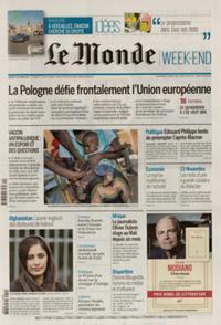 Le Monde Week-end + N° 211009