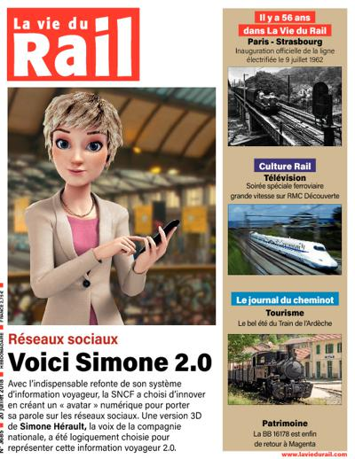 Vie du Rail Hebdomadaire (photo)