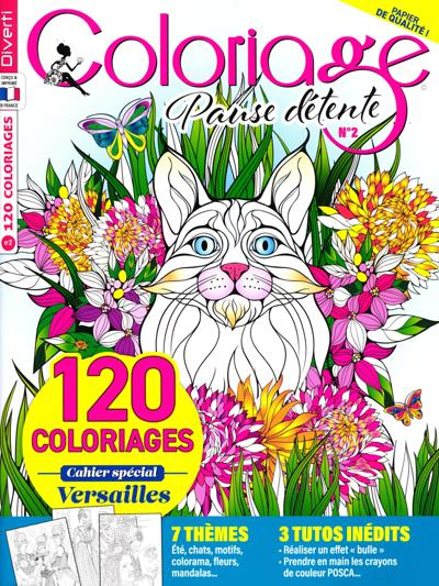 Coloriage Anti Stress Magazine.Abonnement Magazine Coloriage Ambiance Zen