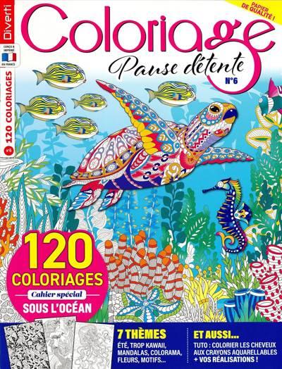 Coloriage ambiance zen (photo)