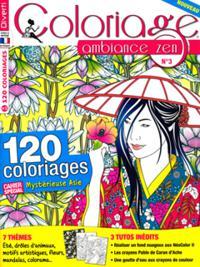 Coloriage ambiance zen N° 03