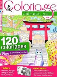 Coloriage ambiance zen N° 6