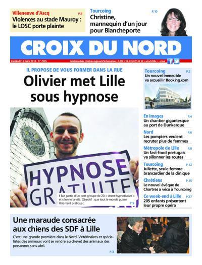 Abonnement magazine La Croix du Nord