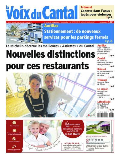 Abonnement magazine La Voix du Cantal