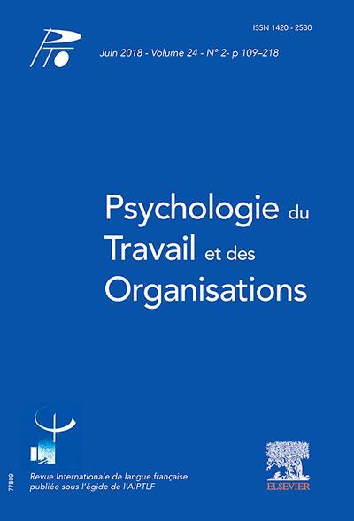 Abonnement magazine Psychologie du travail et des organisations