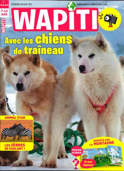 Abonnement magazine Wapiti Maxi Découvertes