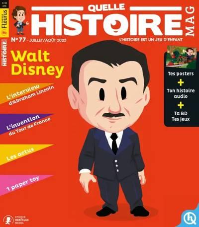 Abonnement magazine Quelle Histoire magazine