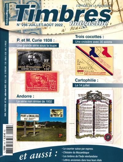 Abonnement Timbres Magazine