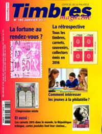 Timbres Magazine N° 185