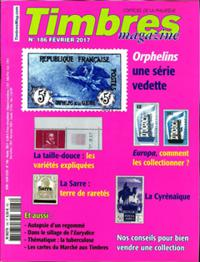 Timbres Magazine N° 186