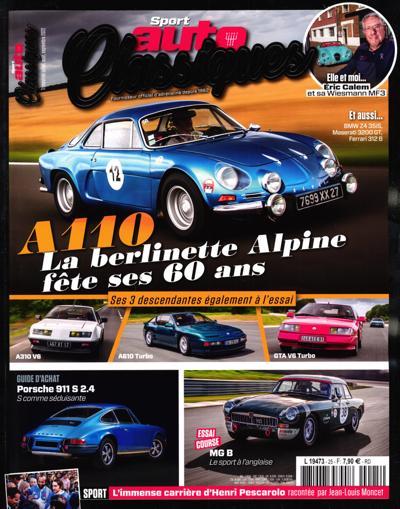 Abonnement Sport Auto Classiques
