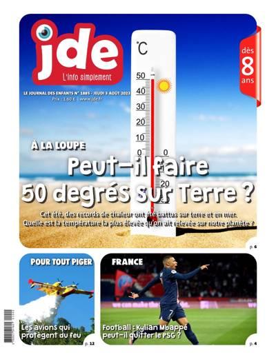 Abonnement Le Journal des Enfants - JDE