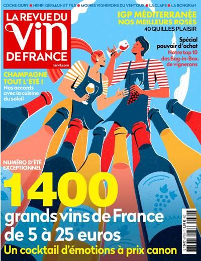 Abonnement La Revue du Vin de France