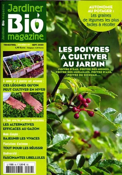 abonnement magazine jardiner bio magazine pas cher viapresse. Black Bedroom Furniture Sets. Home Design Ideas