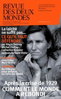 La Revue des 2 Mondes N° 3817