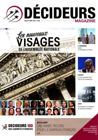 Décideurs magazine (photo)