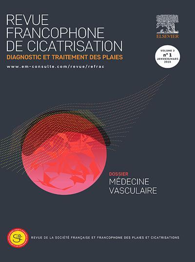 Revue Francophone de Cicatrisation - N°1903