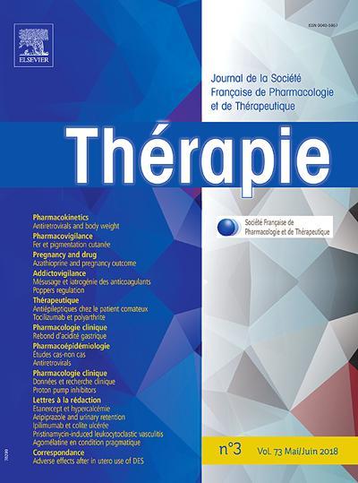 Thérapie - N°2007