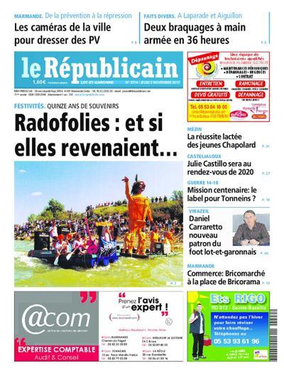 Le Républicain Lot-et-Garonne - N°3875