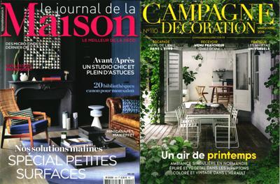 abonnement magazine journal de la maison campagne. Black Bedroom Furniture Sets. Home Design Ideas