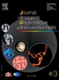Journal d'Imagerie Diagnostique et Interventionnelle N° 1803
