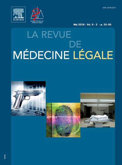 Abonnement La Revue de Médecine Légale