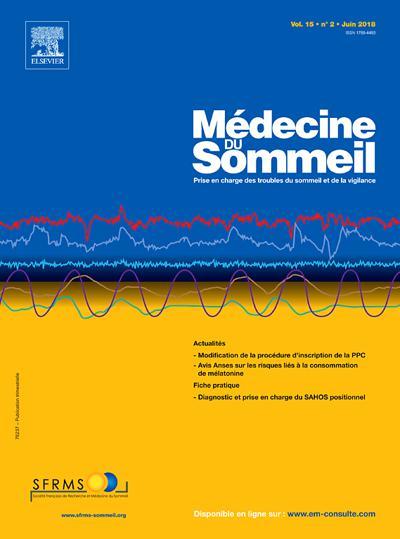 Abonnement Médecine du sommeil