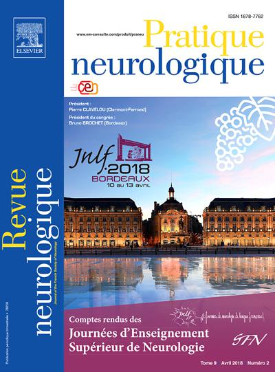 Pratique neurologique - N°1903