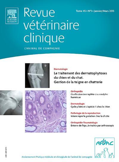 Abonnement magazine Revue vétérinaire clinique