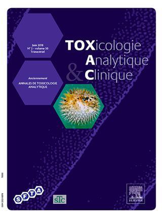 Toxicologie analytique et clinique