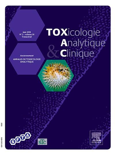 Toxicologie analytique et clinique (photo)