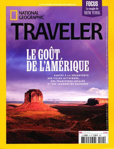 Abonnement National Geographic Traveler