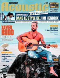 Guitarist acoustic N° 63